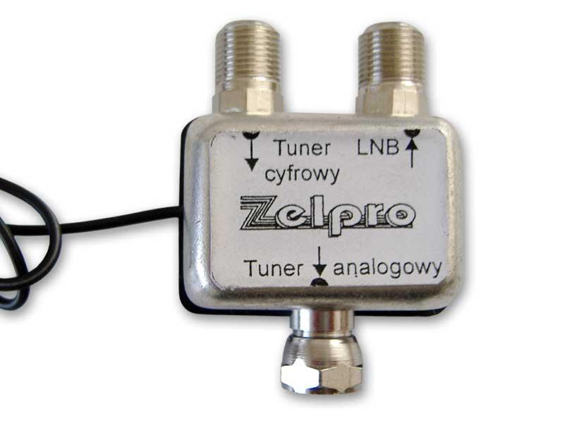 Przełącznik sygnału konwertera na jeden z dwóch tunerów